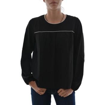 Vêtements Femme T-shirts manches longues Ryujee tee shirt manches longues  tracy noir noir