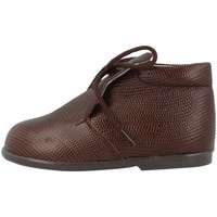 Chaussures Fille Boots Landos 61B02 Marron