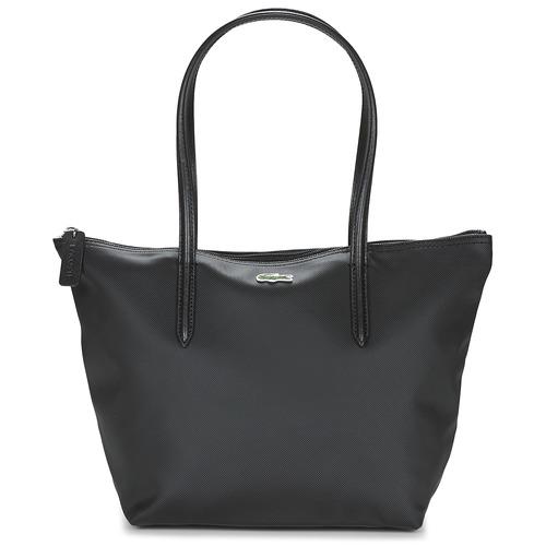 03899a51bf Lacoste L 12 12 CONCEPT Noir - Livraison Gratuite | Spartoo ! - Sacs ...