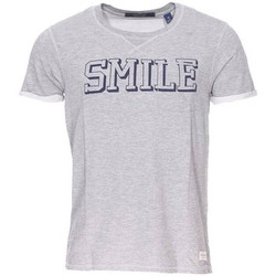 Vêtements Homme T-shirts manches courtes Scotch & Soda - tee-shirt GRIS