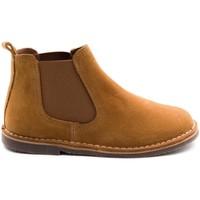 Chaussures Enfant Boots Boni Classic Shoes Boots à enfiler en daim - BENOIT Daim Beige Foncé