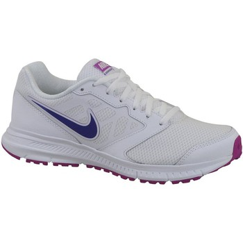 Chaussures Femme Baskets basses Nike Wmns Downshifter 6 Blanc-Violet