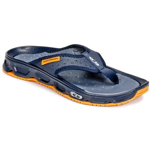 Chaussures Homme Tongs Salomon RX BREAK Bleu / Orange