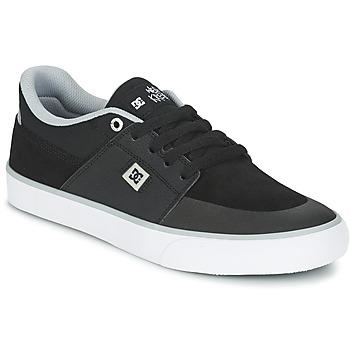 Chaussures Homme Baskets basses DC Shoes WES KREMER M SHOE XKSW Noir / Gris / Blanc