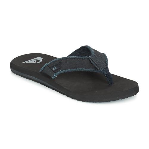 Chaussures Homme Tongs Quiksilver MONKEY ABYSS M SNDL XKKC Noir