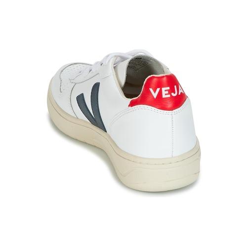 10 BlancBleu V Rouge Veja Basses Baskets yPnmON8v0w