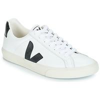 Chaussures Homme Baskets basses Veja ESPLAR LOW LOGO Blanc / Noir