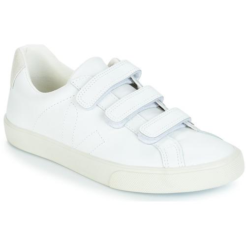 Veja Basses Femme 3Lock Baskets Blanc FcKTJ31l