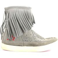 Chaussures Femme Bottines Ishikawa AM662 beige