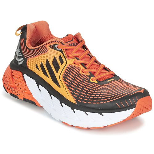 Chaussures Homme Running / trail Hoka one one GAVIOTA Orange / Noir