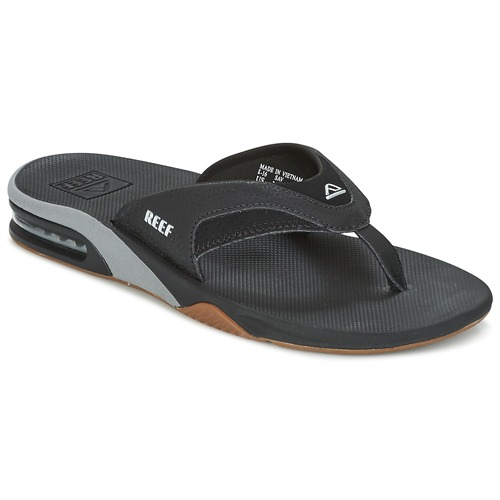 Chaussures Homme Tongs Reef FANNING Noir / Gris
