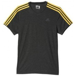 Vêtements Femme T-shirts manches courtes adidas Originals Tee shirt essentials 3S Gris anthracite