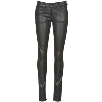 Vêtements Femme Jeans slim Cimarron ROSIE JEATHER Noir