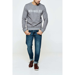 Vêtements Homme Sweats Wrangler Sweat Shirt  Crew Gris Chine Homme Gris