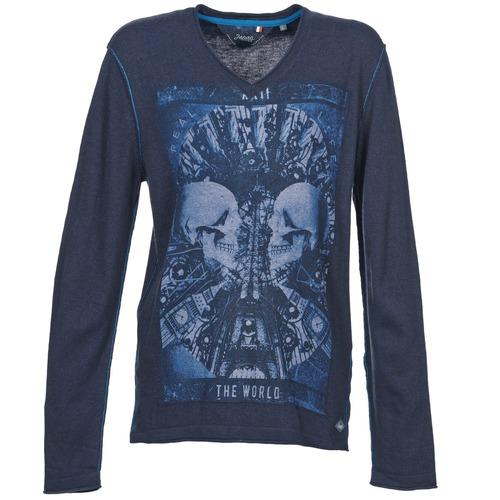 Vêtements Homme Pulls Le Temps des Cerises BREG Bleu