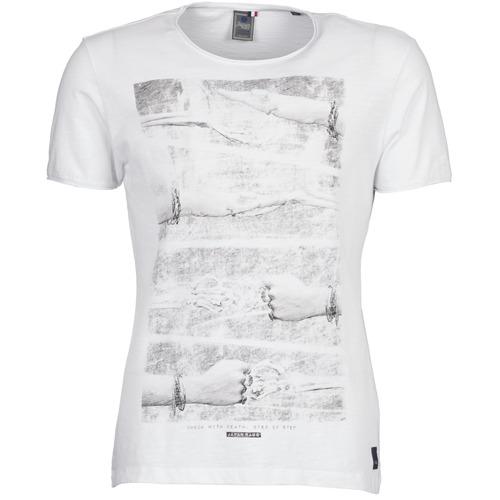 Vêtements Homme T-shirts manches courtes Le Temps des Cerises TAPLA Blanc