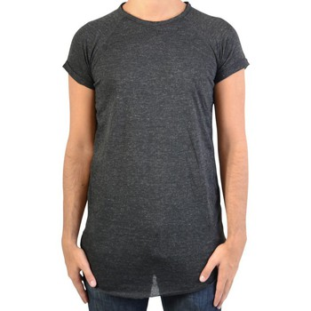 Vêtements Homme T-shirts manches courtes Deeluxe Tee Shirt Justin TS Iron Grey Mel Gris