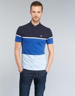 Vêtements Homme Polos manches courtes Armani jeans MARAFOTA Bleu