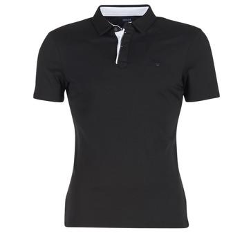 Vêtements Homme Polos manches courtes Armani jeans MEDIFOLA Noir