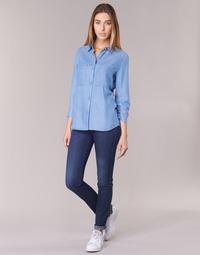 Vêtements Femme Jeans skinny Armani jeans HERTION Bleu