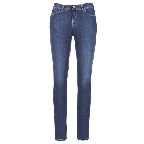 Vêtements Femme Jeans slim Armani jeans GAMIGO Bleu