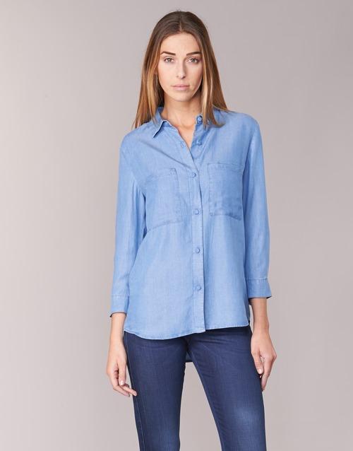 Vêtements Femme Chemises / Chemisiers Armani jeans OUSKILA Bleu