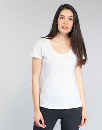 Vêtements Femme T-shirts manches courtes Armani jeans LASSERO Blanc