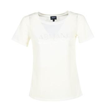 Vêtements Femme T-shirts manches courtes Armani jeans KAJOLA Blanc