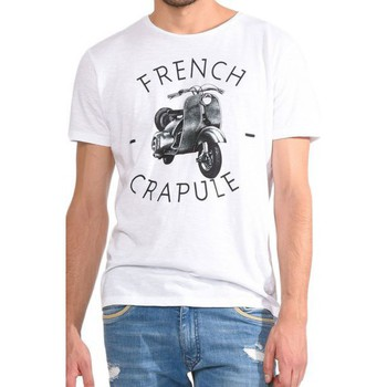 Vêtements Homme T-shirts & Polos Kaporal T-Shirt  David blanc