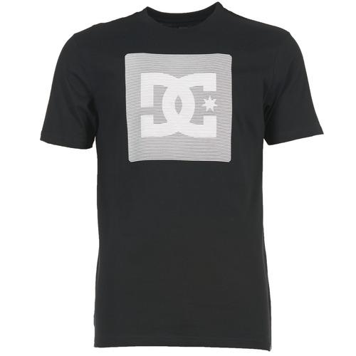 Vêtements Homme T-shirts manches courtes DC Shoes VARIATION SS Noir / Gris / Blanc