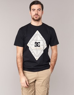 Vêtements Homme T-shirts manches courtes DC Shoes LONG DAY SS Noir