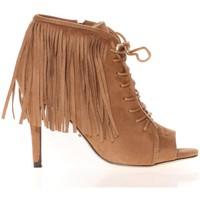 Chaussures Femme Sandales et Nu-pieds Cassis Côte d'Azur Cassis Côte d' azur Bottine Majorelle Camel Marron