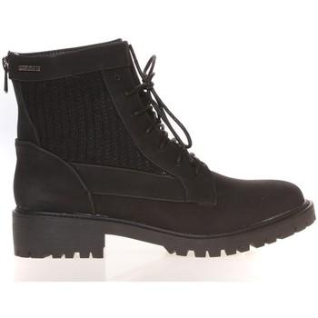 Chaussures Femme Boots Cassis Côte D'azur Cassis Côte d' azur Bottine Amanda Noir Noir