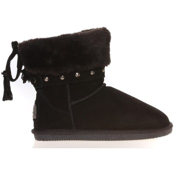 Chaussures Femme Boots Ilario Ferucci Boots Rebus Noir Noir