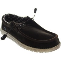 Chaussures Homme Mocassins Hey Dude Wally Suede marron