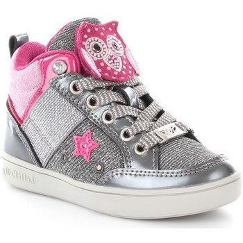Chaussures Enfant Baskets basses Lelli Kelly 6404 Basket Fille Grey Grey