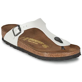 Chaussures Femme Tongs Birkenstock GIZEH Blanc nacré
