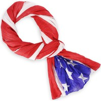 Echarpes / Etoles / Foulards Flag Chech Chèche USA Star Spangled