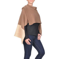 Vêtements Femme Gilets / Cardigans Qualicoq Poncho bicolore SOPHIE 5