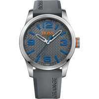 Montres & Bijoux Homme Montres Analogiques Hugo Boss Orange Montre BOSS ORANGE PARIS 1513349 - Montre Grise Silicone Homme