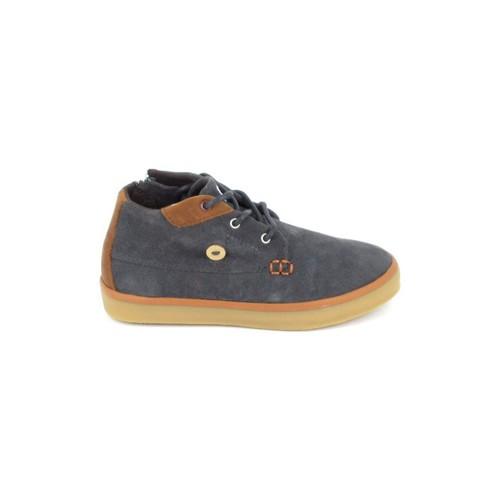 Chaussures Enfant Baskets montantes Faguo Wattle Suede BB Gris Gris