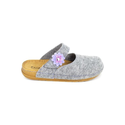 Fargeot Ushiro Gris Gris - Chaussures Chaussons Femme