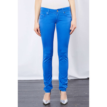Vêtements Homme Jeans skinny Gas Jeans Beverly Skinny Turquoise Femme Turquoise