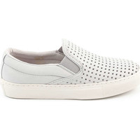 Slips on Bronx Baskets  Miki Gris Clair Femme