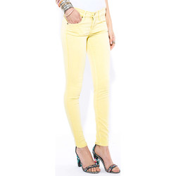 Vêtements Femme Jeans slim French Connection Jeans  Summer Leg Skinny Jaune Femme Jaune