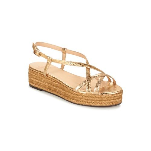 Chaussures Femme Sandales et Nu-pieds Castaner MAGDALENA Doré