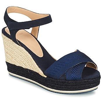 Chaussures Femme Sandales et Nu-pieds Castaner VERONICA Marine / Noir