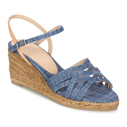 Chaussures Femme Sandales et Nu-pieds Castaner BETSY Bleu / Beige