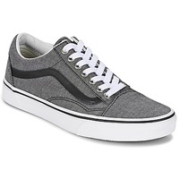 Chaussures Baskets basses Vans OLD SKOOL Gris / Noir