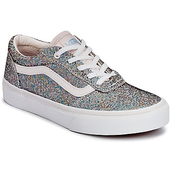 Chaussures Enfant Baskets basses Vans MILTON Paillettes / Multicolore
